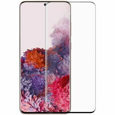 $ CDN4.35 • Buy For Samsung Galaxy S10 S20 S9 S8 Plus Tempered Glass Screen Protector Film Black