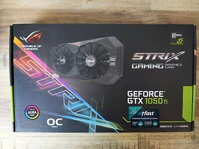 $ CDN189 • Buy Asus Geforce Gtx 1050 Ti 4gb Gaming Graphics Card