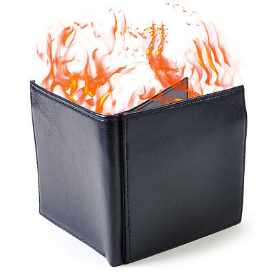 £6.99 • Buy Magic Trick Fire Flash Burst To Flame Black Wallet (no Lighter Fluid Included)