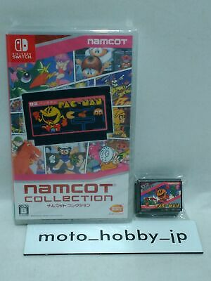 W/Limited 12 Magnet Sheet Namco Namcot Collection NES 12 Titles Nintendo Switch • 46.41£