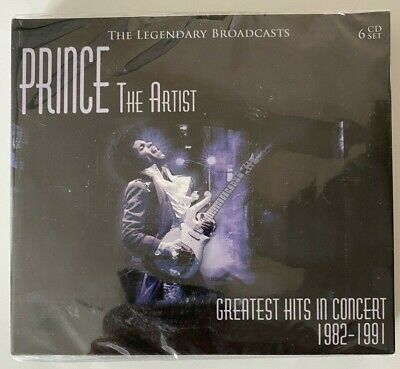Prince - The Artist Greatest Hits In Concert 1982-1991 - 6 X CD BOX SET - SEALED • 12.99£