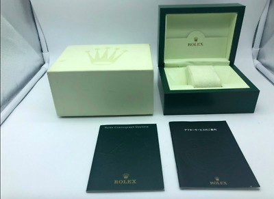 $ CDN155.46 • Buy GENUINE ROLEX Daytona Watch Box Case Wave 30.00.08 Booklet 0302001m