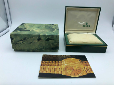 $ CDN107.94 • Buy VINTAGE GENUINE ROLEX Watch Box Case 11.00.01 Booklet 0226002#m