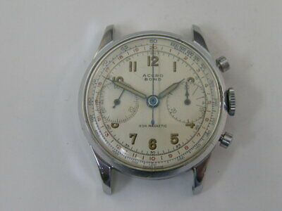 $ CDN306.17 • Buy Vintage Accro Bond Chronograph Watch Landeron 48