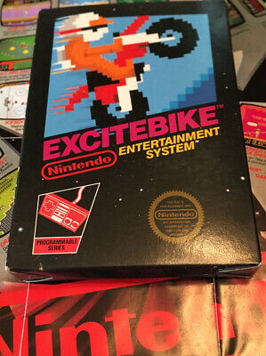 £261.95 • Buy Excitebike NES Nintendo COMPLETE CIB, Tested And Working!!! Collection Piece!!!