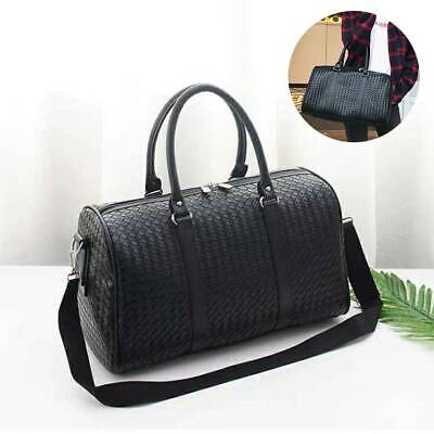 Woman Girl Ladies Black Luxury Bag Holdall For Travel Weekend Overnight • 13.69£