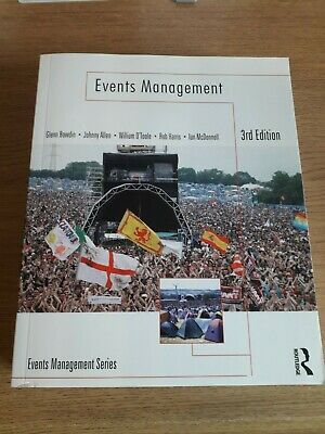 £50 • Buy Events Management By William O'Toole, Johnny Allen, Glenn A. J. Bowdin, Ian...