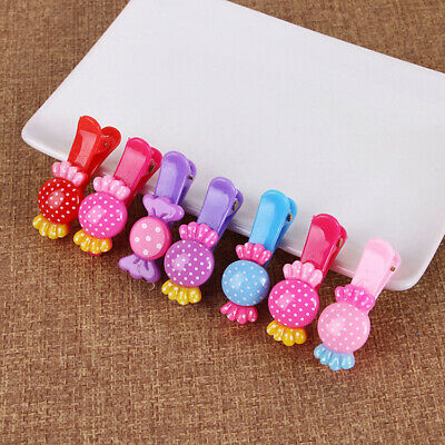 $ CDN1.31 • Buy Colorful Kids Hair Clips Hairpins Hair Accessories D5R5 For Baby Nice Girls U9L5