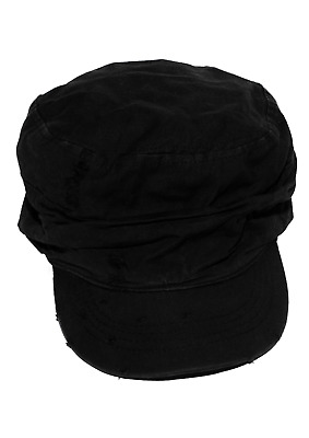 £4.99 • Buy MACAHEL Classic Army Military Style Plain Hat Cadet Baseball High Quality Cap