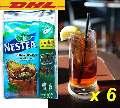 $130.64 • Buy 6x90g Nestea Unsweetened 100%New Package IceTea Mix Instant New Thai PowderDrink