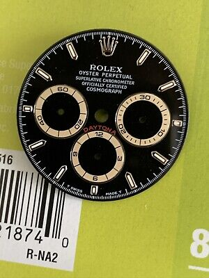 $ CDN19749.01 • Buy Rolex Black Patrizzi Dial For Zenith Daytona 16520 Rare