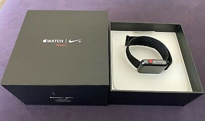 $ CDN193.91 • Buy Apple Watch Series 3 Nike+ 42mm Space Gray Aluminum GPS + Cellular Sport Band