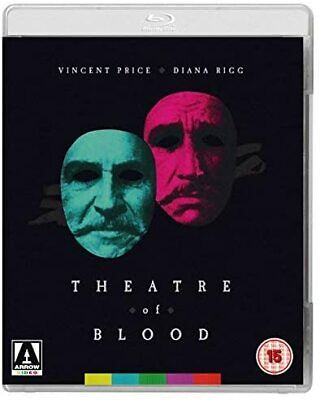 Theatre Of Blood (Blu-ray) Vincent Price, Diana Rigg, Ian Hendry • 14.99£