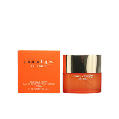 Perfume Clinique Men HAPPY FOR MEN Edt Pour Homme Spray 50 Ml • 41.13£