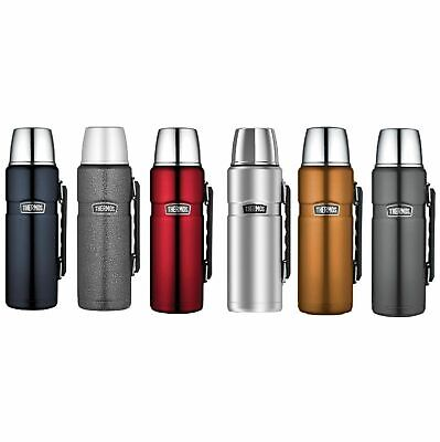 AU44.95 • Buy NEW THERMOS 1.2 LITRE DRINK BOTTLE King Flask Stainless Steel Insulated Lunch