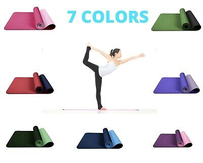 AU21 • Buy Exercise Mat Yoga Mat Non-Slip Gym Fitness Pilates Workouts Durable Pad Mats