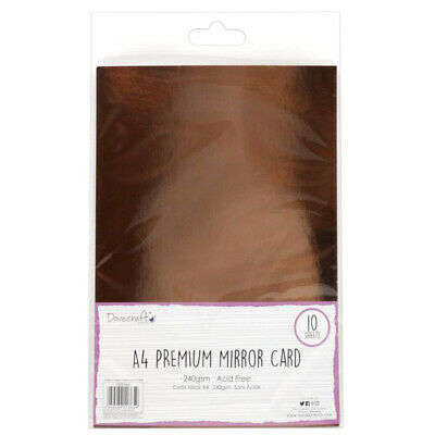 Rose Gold Mirror A4 Card • 3.99£