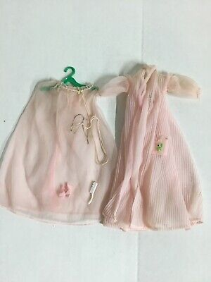 $ CDN27.20 • Buy Vintage Barbie Doll Clothes 1960's  Nighty Negligee #965