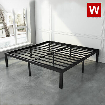 $ CDN266.41 • Buy Queen Steel Platform Bed Frame With Heavy Duty Steel - Height 14