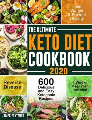 $1.99 • Buy The Ultimate Keto Diet Cookbook 2020  600 Delicious And Easy Ketogenic [(P.D.F)]