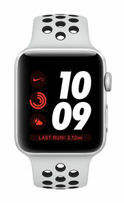 $ CDN297.72 • Buy Apple Watch Nike Series 3 GPS + Cellular, 38MM Aluminum Pure Platuinum Sport