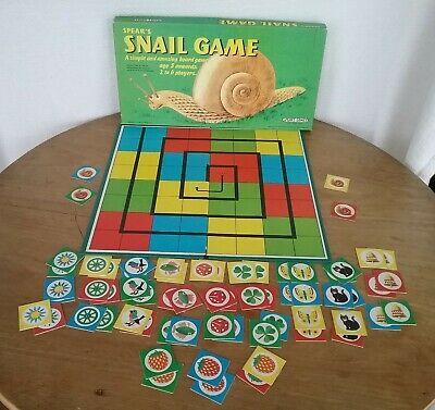 Rare Vintage Retro Spears Games The Snail Game Board Game 1972 • 12£