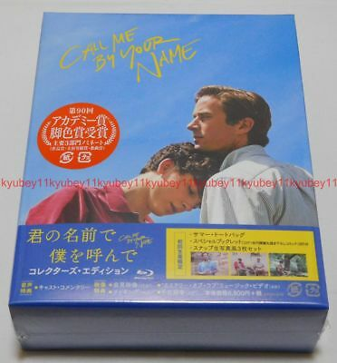 AU209.31 • Buy Call Me By Your Name Collector`s Edition Blu-ray Booklet Tote Bag Photo Japan