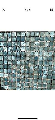 Dreamy Mother Of Pearl Tile, Backsplashes, Trim, Walls, Mosaic Art • 12.87£