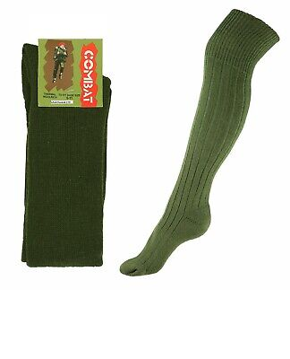 Commando Patrol Socks Combat Military Army Cadet Style  In Black Or Olive Green • 5.99£