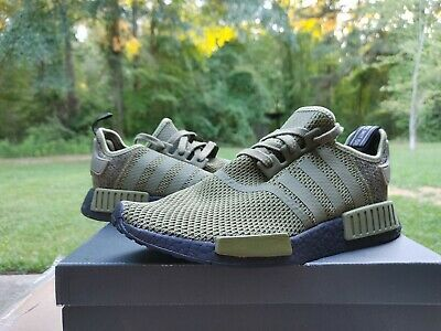 $ CDN270.79 • Buy Worn Once Men's ADIDAS NMD R1 JD SPORTS Sneakers AQ1246 Size 10.5 Olive Black