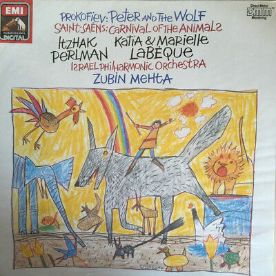 £4.99 • Buy Prokofiev - Peter And The Wolf / Carnival Of The Animals