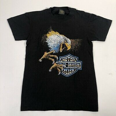 $ CDN96.09 • Buy Vtg Deadstock 3D Emblem Eagle Harley Davidson T-Shirt Sz Small Made In USA