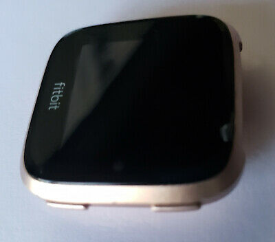 $ CDN78.63 • Buy USED Fitbit Versa Smartwatch FACE ONLY - Rose Gold Aluminum Case