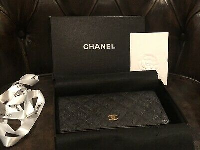 AU1500 • Buy 100% Authentic Chanel Wallet Caviar With Original Receipt