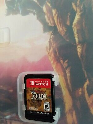 $35 • Buy The Legend Of Zelda - Breath Of The Wild Nintendo Switch