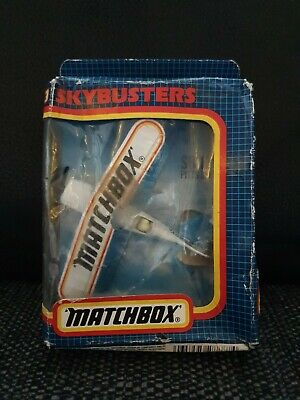 Vintage Matchbox Skybusters SB-12 Pitts Special Plane In Box • 8£