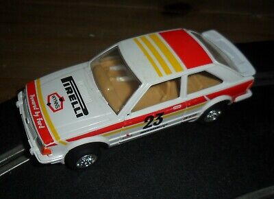 Scalextric Rare Vintage Ford Escort XR3i Touring / Rally Car # 23 Superb Cond. • 9.50£