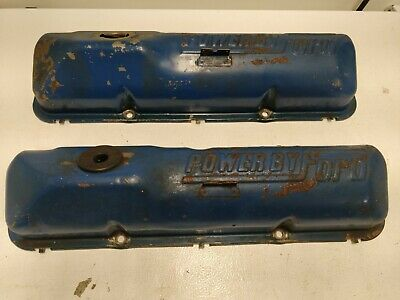 $49.99 • Buy  OEM Ford Power By Ford Blue 352 390 427 428 Big Block Valve Covers