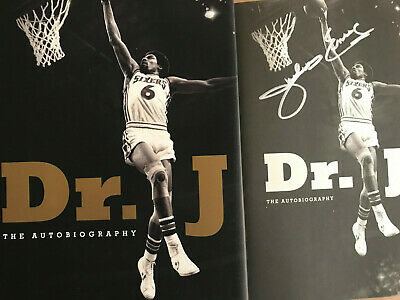 AU104.38 • Buy Signed Julius Erving~dr. J The Autobiography Julius Erving~hcdj 1st/1st