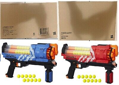 AU199 • Buy NERF Rival Artemis XVII-3000 Blaster Red Blue Ages 14+ Toy Play Gun Fight Fire