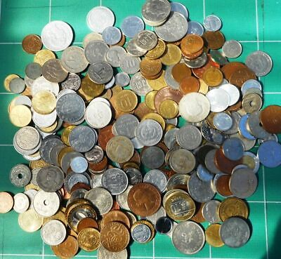 1.1 Kg Mixed Coins Mostly Foreign • 4£