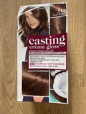 Loreal Casting Semi-permanent Hair Colour/Dye Shade 513 Iced Truffle Dark Brown • 4£