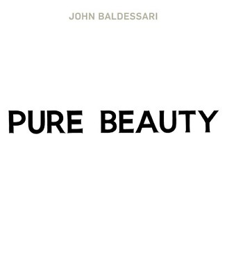 John Baldessari: Pure Beauty, Very Good Condition Book, Jessica Morgan,Leslie Jo • 28.96£