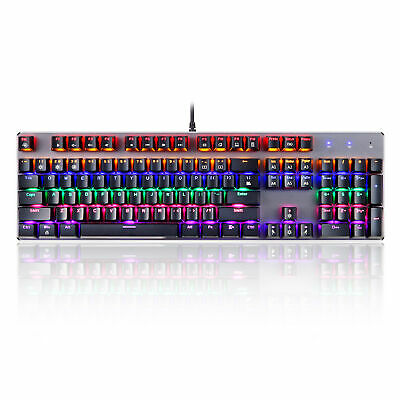 AU59.99 • Buy REDRAGON K552 Gaming Mechanical Wired Splash-proof Water Keyboard 87 Keys