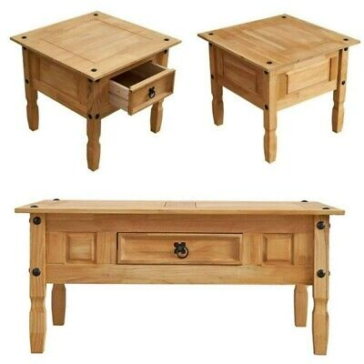 £33.99 • Buy Modern Corona Coffee Table End Table Side Table Drawer Optional Mexican Style