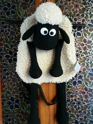 Vintage 1989 Shaun The Sheep Back Pack Bag Wallace & Gromit A Close Shave • 9.50£