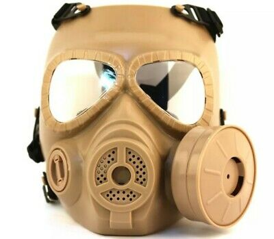 $35.99 • Buy Military Practical Mask Helmet Cosplay Wargame Fan Safety Gas Mask Tactical M04