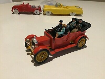 $8.99 • Buy Vintage Corgi Toys 9021 Classics 1910 DAMILER Car Red With All Four Figures