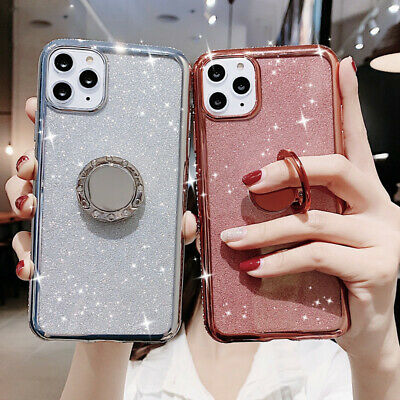 AU5.86 • Buy For Apple IPhone 13 12 11Pro Max X XR XS 8 7 6S Glitter Case Cover With Ring