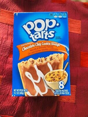 American Chocolate Chip Cookie Dough Pop Tarts 14.1oz 8 Toaster Pastries • 5.70£